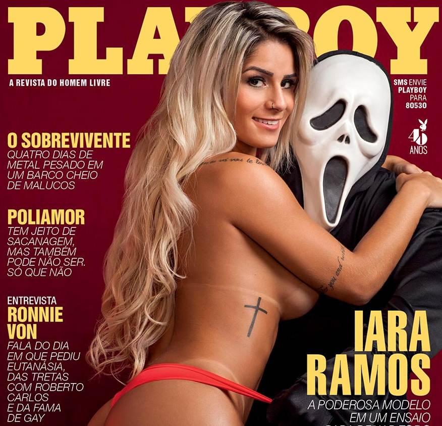 Iara Ramos Nua na Playboy